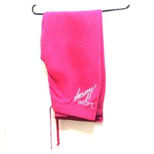 No Boundaries Jersey pants hot pink
